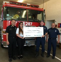 LAFD Fire Station receives Pay It Forward Award