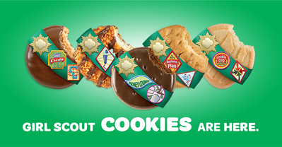 Girl Scout Cookie Sale 2019- Channel Islands